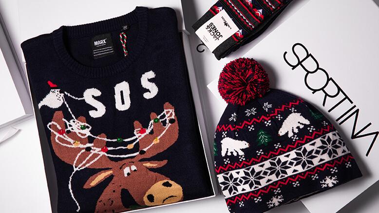 Jack & Jones čarape 79,00 hrk; Marx kapa 199,00 hrk; Marx pulover349,00 hrk